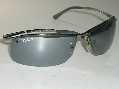 RAY BAN RB3183 004/82 6315 GRAY GRADIENT MIRROR ...