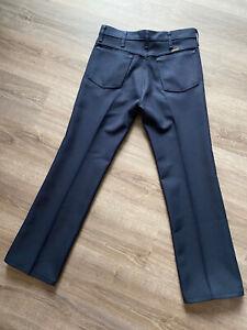Wrangler Poliester Negro 82nv Los Pantalones De Vestir Para Hombre Talla 32x30 Ebay