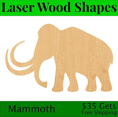 Warthog Laser Cut Out Wood Shape Craft Supply Unfinished