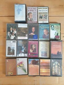 audio music cassette tapes bundle joblot x 18 as pictured mct23