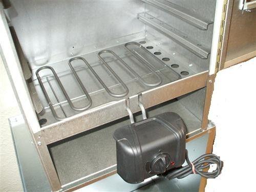 Smoki-räuchertechnik electrical for smoked, 2300 Watt  COD. 103  free shipping on all orders