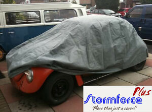 Deluxe VW Classic Beetle Cover In//Outdoors Air-vented waterproof Silver C9426