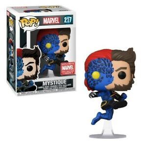 Marvel Funko #217 Mystique Marvel Collector Corps Exclusive W/ Protector