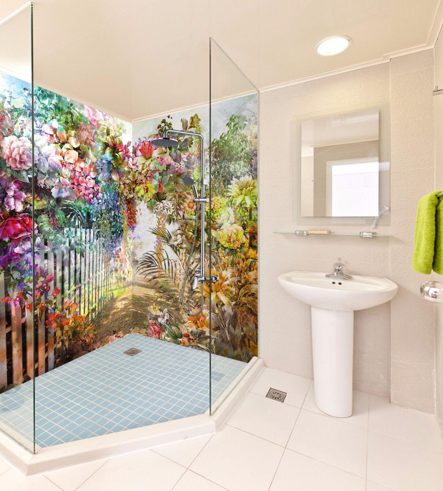 3D Flower 7048  WallPaper Bathroom Print Decal Wall Deco AJ WALLPAPER AU