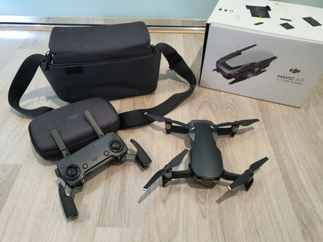 DJI Mavic Air Fly More Combo Drone - Onyx Black 11 MIN FLIGHT TIME ONLY!!