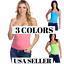 Hering-Junior-Ladies-Basic-Wirefree-Shelf-Bra-Tank-Top-Camisole-0118 thumbnail 1