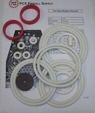 1976 Zaccaria Ten Stars Pinball Machine Rubber Ring Kit