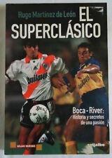 BOCA JUNIORS VS RIVER PLATE History Matches Book !!!