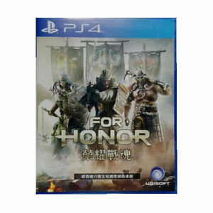 For-Honor-Sony-PlayStation-PS4-2017-Chinese-English-Factory-Sealed