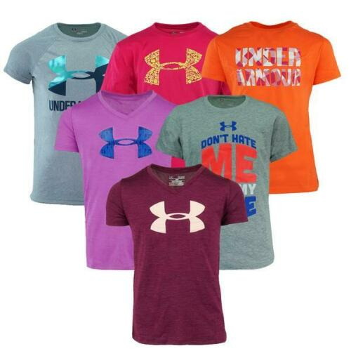 Under Armour Girl/'s Graphic T-Shirt Mystery 2-Pack XS