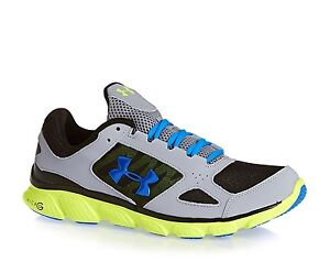 Under Armour UA Micro G Assert V Men s Trainers Running Shoes ... 702c8ad203e