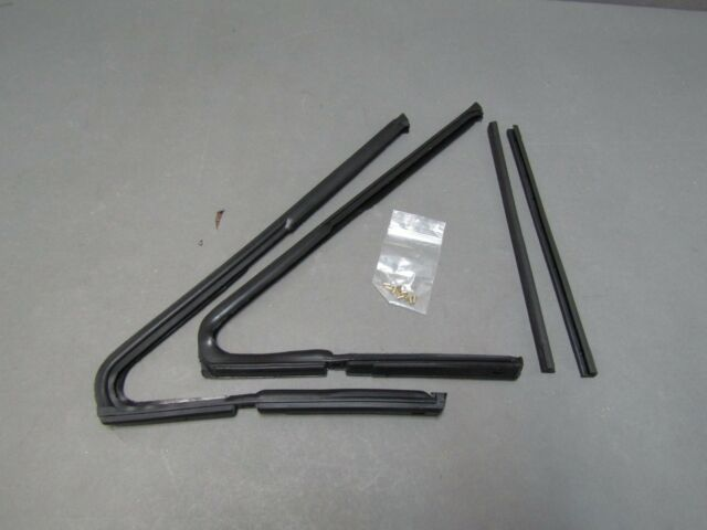 63 64 65 Ford Falcon Vent Window Seals Hardtop Convertible Mercury Comet