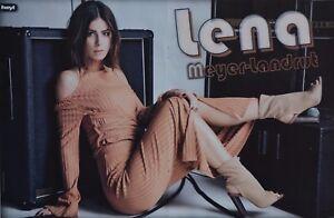 LENA-MEYER-LANDRUT-A3-Poster-ca-42-x-28-cm-Clippings-Fan-Sammlung-NEU
