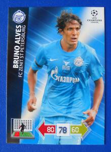 CARD-PANINI-ADRENALYN-CHAMPIONS-LEAGUE-2012-13-BRUNO-ALVES-ZENIT
