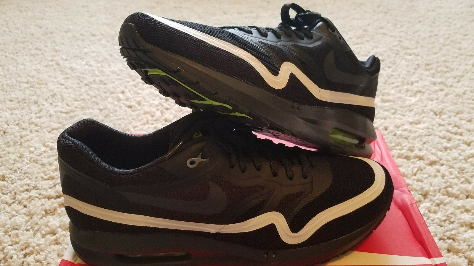 Nike Air Max Lunar1 Black Anthracite White Volt, Size Size Size 10.5, Brand New  ac1975