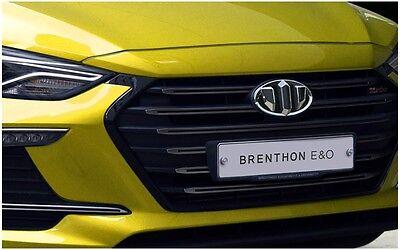 Hyundai Santa Fe Sport 2G Brenthon Emblem Badge Grille Trunk 1Set-2ea For 2017