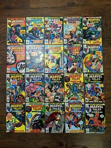 Marvel Tales Starring Spider-Man Marvel Comics Lot Of 48