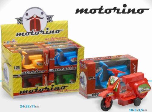 ds Motorino Moto Con Retrocarica Colorato Gioco Giocattolo Bambini Bimbi moc