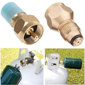 Propane Refill Adapter Lp Gas Cylinder Tank Coupler Heater Camping Hunt