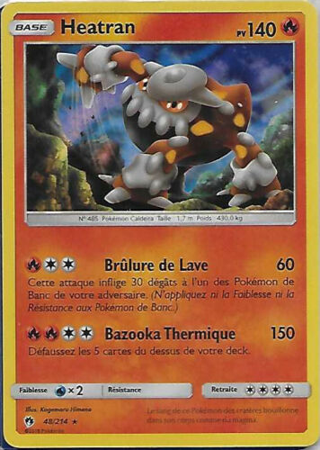 Carte Pokemon SL8 Tonnerre Perdu au choix en Version Francaise