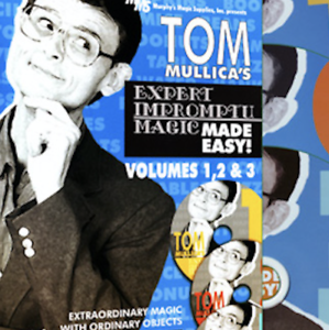 Tom Mullica/'s Impromptu Magic 3 Disc Combo by Murphy/'s Magic Supplies