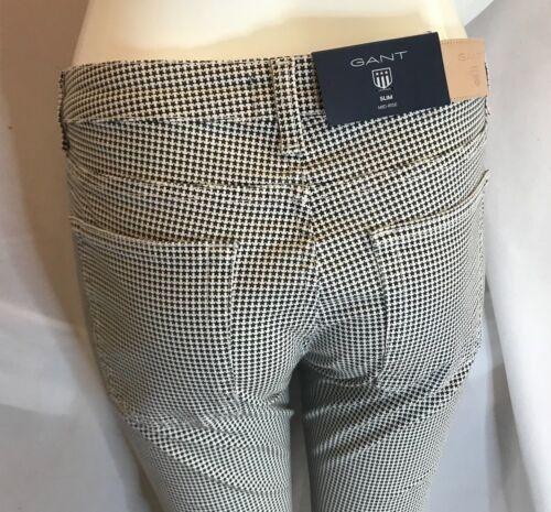Pantaloni 50 Microstar Risparmia Jean Satin Slim Bnwt 32 29 L Ladies £ Gant L qW4RFY