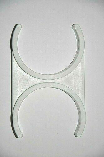 """Clip de montaje doble 2/""""x 2/"""" Abrazadera Ósmosis Inversa Filtro de agua potable di T33"""