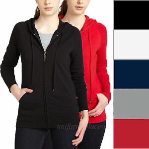 579618224640cb DICKIES Girl Sweatshirts Womens Junior s Slim Fit Hooded Zipper ...