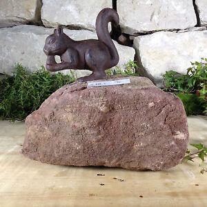 Herzhaft Garten Terrasse Bachlauf Naturstein Sandstein Kräuterspirale Eichhörnchen Geko SchöN In Farbe Garten & Terrasse