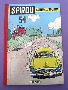 SPIROU-SUPERBE-RELIURE-DUPUIS-NO-54-DE-1955-ETAT-EXCEPTIONNEL
