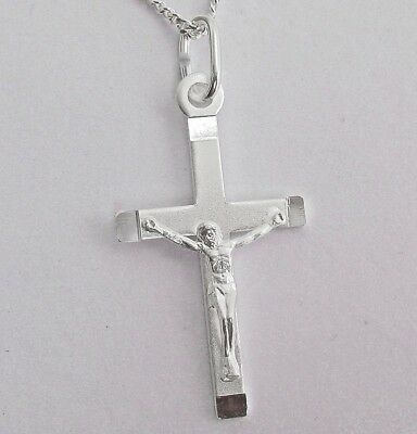 Kreuz Halskette für Herren Jesus Christentum Anhänger Halskette Schmuck DE