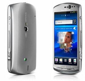unlocked sony ericsson xperia neo v mt11i 5mp smartphone silver ebay rh ebay com Xperia Sola Xperia U