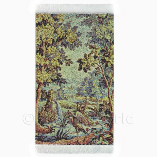 tapxsr04 Dolls House Miniature Small Tapestry Pelicans