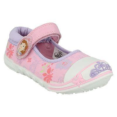 Disney de niña SOPHIA Sueños PARACHOQUES Lona Informal cotidiano Zapatos