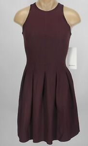 NEW-LULULEMON-Here-to-There-Dress-2-4-6-8-10-Bordeaux-Drama-FREE-SHIP