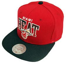 Mitchell & Ness Stack Miami Heat Snapback EU092 Cap Kappe Basecap Mens Neu New