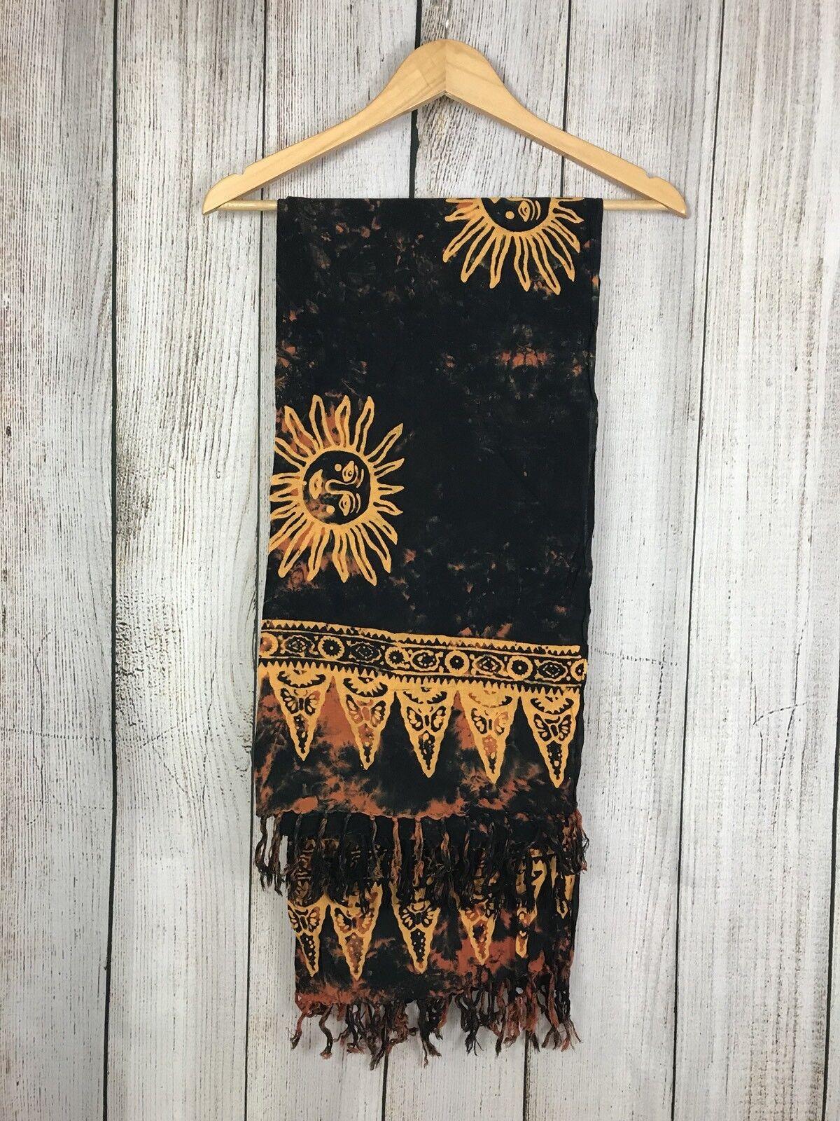 Beach wrap sarong Batiked Fabric From Malaysia