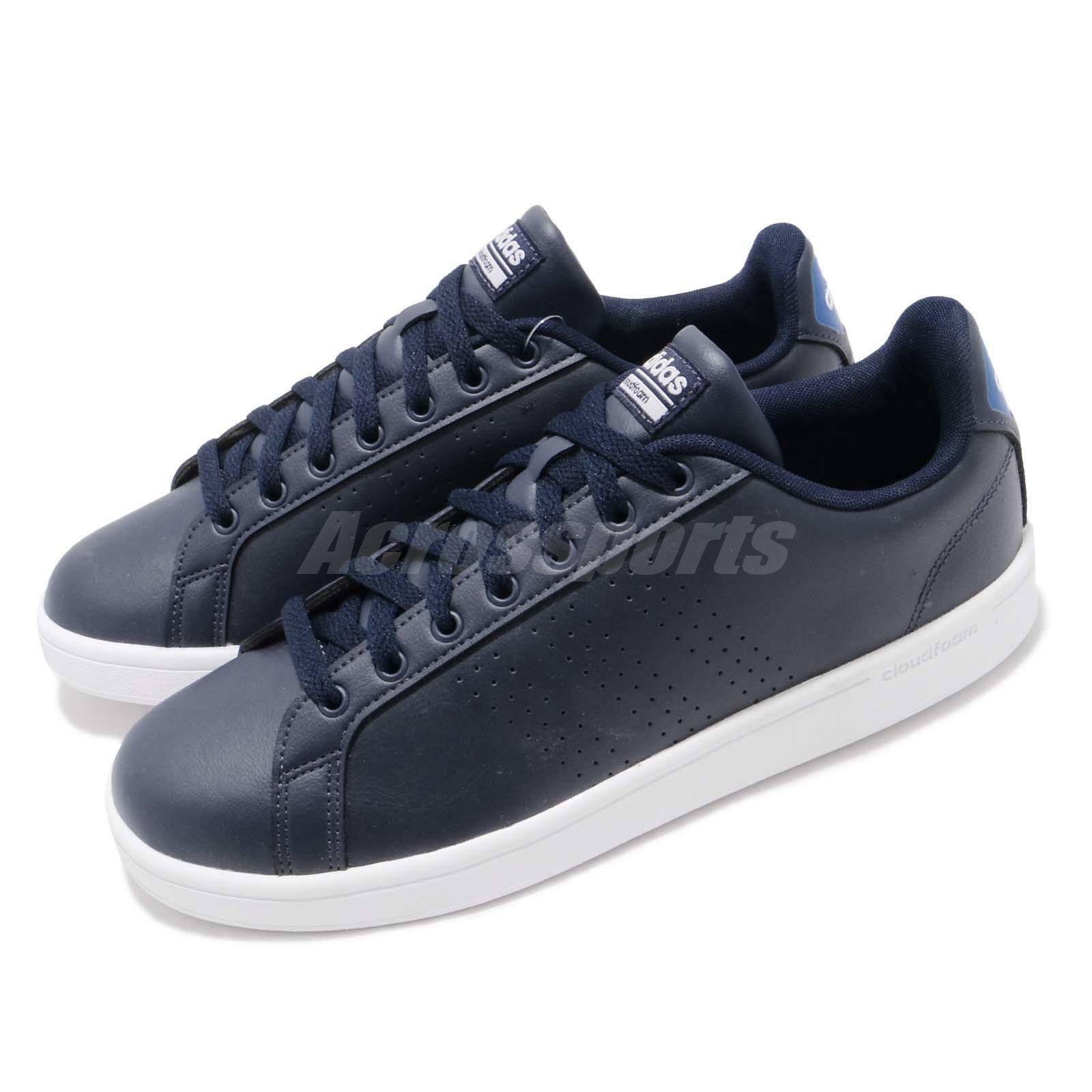 Adidas NEO CF Advantage CL Navy White Mens Casual shoes BB9625