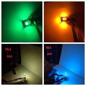 (4)BAYONET LED-LAMP/6.3V- SA-500 600 700 800/DIAL/SA-1000 RECEIVER BULB/Technics