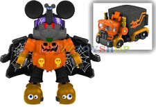 TAKARA TOMY DISNEY LABEL TRANSFORMERS MICKEY MOUSE TRAILER HALLOWEEN VERSION