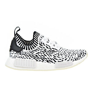 21618734b08 Adidas NMD R1 Primeknit Men s Shoes White Core Black bz0219