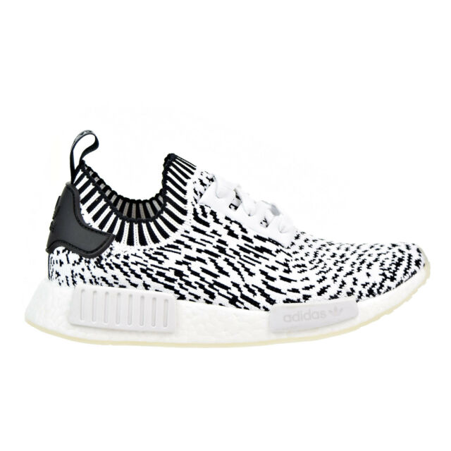 24e5935b1a39d Adidas NMD R1 Primeknit Men s Shoes White Core Black bz0219