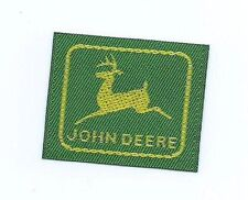 John Deere clothing label 1-1/4 X 1-1/2 small size #610