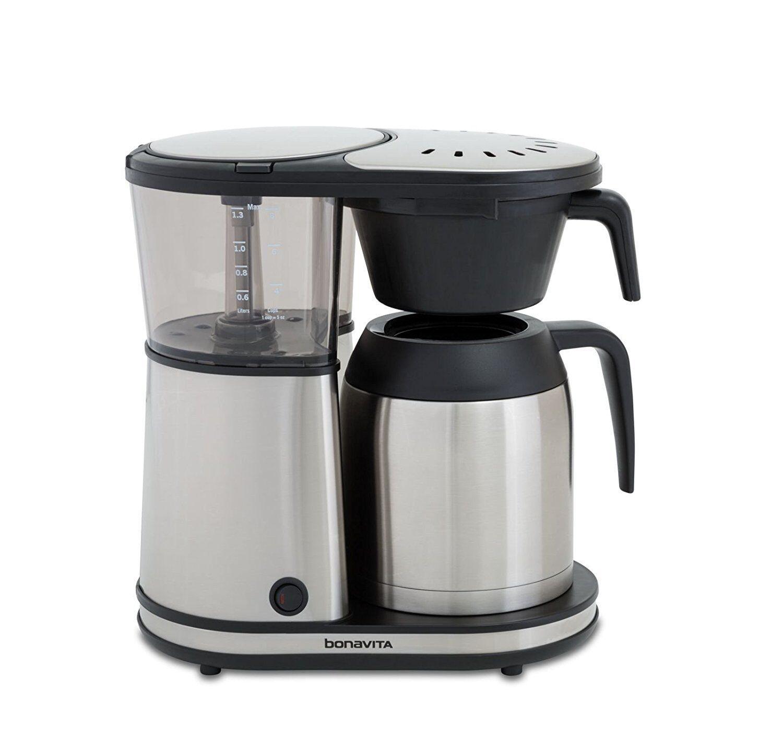 Bonavita BV1901TS 8-Cup Carafe Coffee Brewer, Stainless Steel