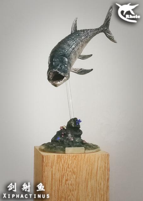 Xiphactinus Model Osteichthyes Bony Fish Toy ...