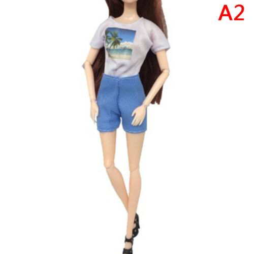 1set party doll clothes accessories doll top dress for boys girls best giftFBDC
