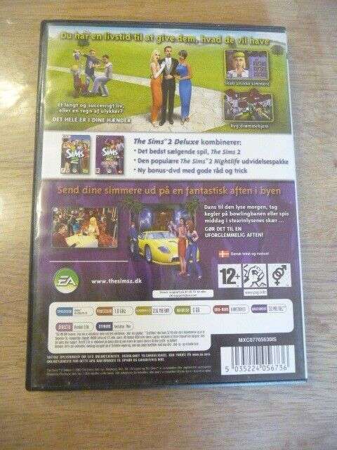 The Sims 2 Deluxe, til pc, anden genre