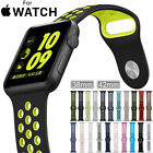 Replacement Silicone Nike+ Sports Strap For Apple Watch Band Series 3 /2 /1