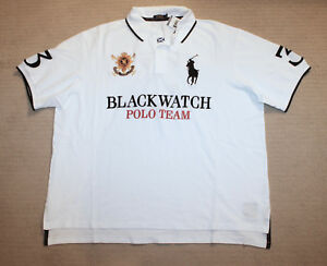 3ad0cb6e NEW Polo Ralph Lauren Big and Tall Big Pony Classic Fit Blackwatch ...