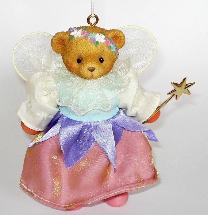 Cherished Cherished Cherished Teddies - SUGAR PLUM FAIRY MARIONETTE - Hanging Ornament 729442 60f586